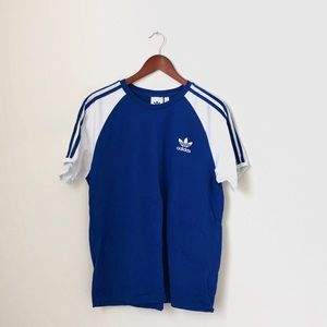 Adidas•Blue Men's Shirt